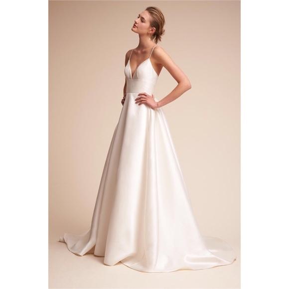 BHLDN Dresses & Skirts - BHLDN Opaline Dress | Size 12 in Ivory | Worn Once